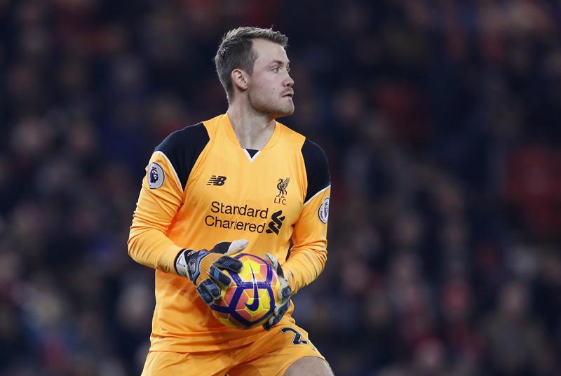 Liverpool's Simon Mignolet Action. Photo: Reuters