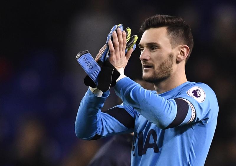 Tottenham's Hugo Lloris applauds fans after the game. Photo: Reuters