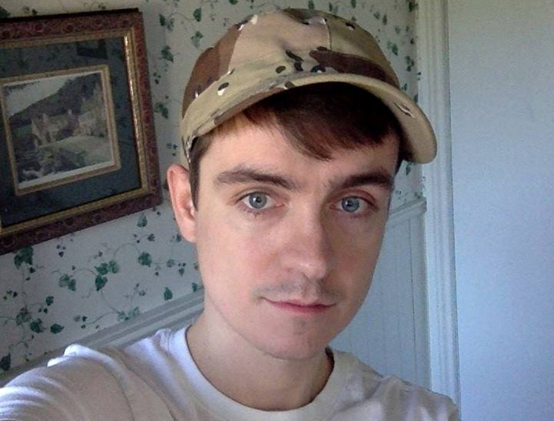 Alexandre Bissonnette, a suspect in a shooting at a Quebec City mosque, is seen in a Facebook posting. Photo: Facebook via Reuters
