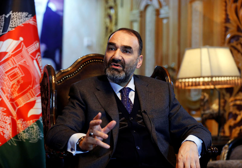 Atta Mohammad Noor, governor of the Balkh province, speaks during an interview in Kabul, Afghanistan on January 25, 2017. Photo: Reuters