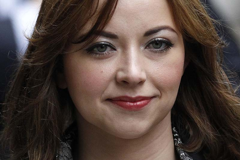 File-British singer Charlotte Church arrives at a division of the High Court, in central London, on February 27, 2012. Photo: Reuters
