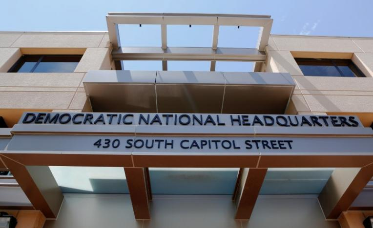 The headquarters of the Democratic National Committee is seen in Washington, US, on June 14, 2016. Photo: Reuters