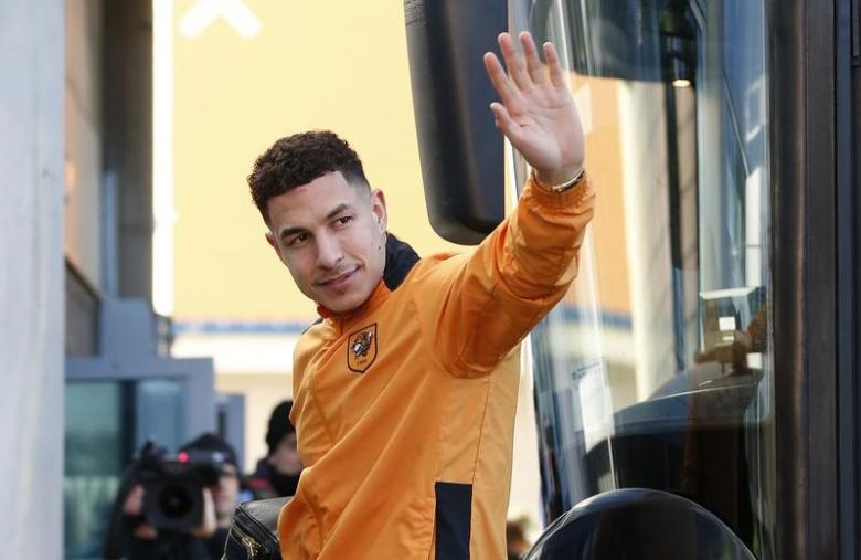 Hull City's Jake Livermore arrives before the game Action Images via Reuters / Craig Brough Livepic