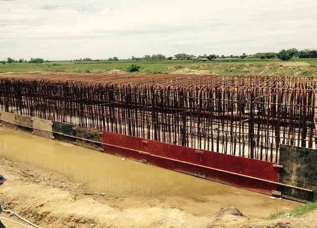 Construction of railway route. Photo: Department of Railway