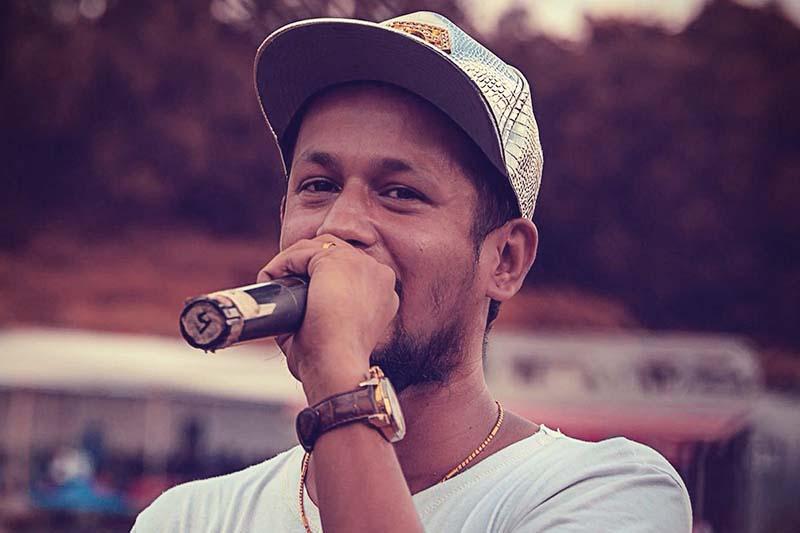 Nepali rapper Yama Buddha