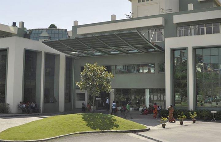 The Neuro Hospital in Bansbari of Kathmandu. Photo: Neuro Hospital