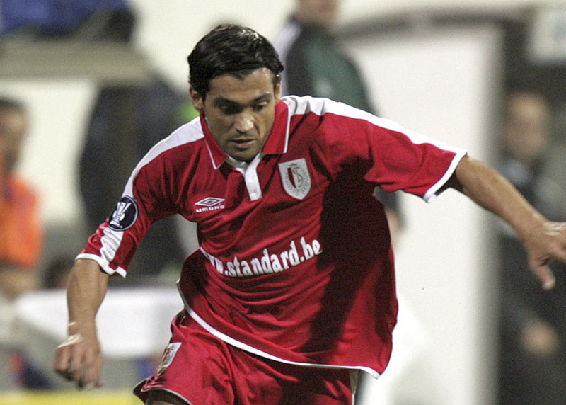 FILE - Sergio Conceicao of Standart Liege, playing against Besiktas during their UEFA Cup soccer match, at Inonu Stadium, in Istanbul, Turkey, on Wednesday, December 1, 2004.  Photo: AP