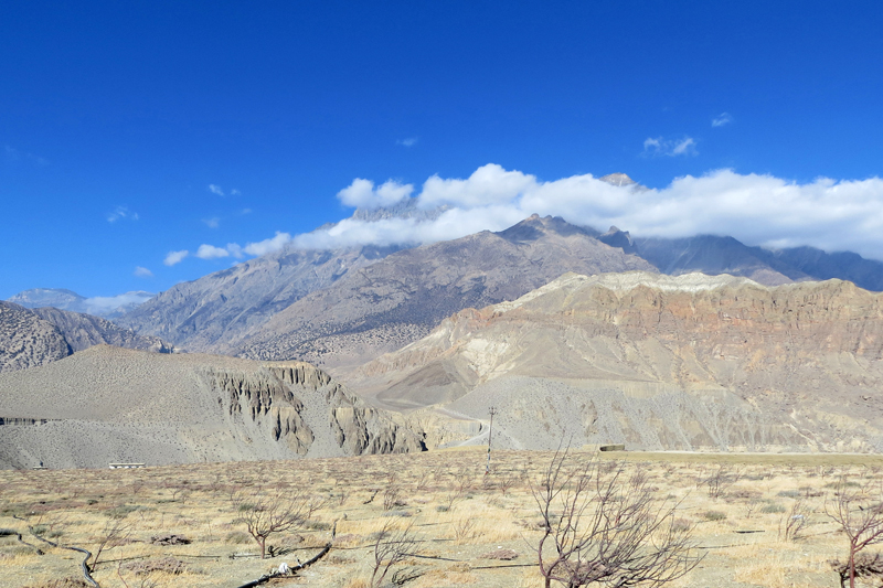 FILE: A splendid view of the sky as seen from Tangbe of Mustang district, on Wednesday, January 04, 2017. Photo: RSS