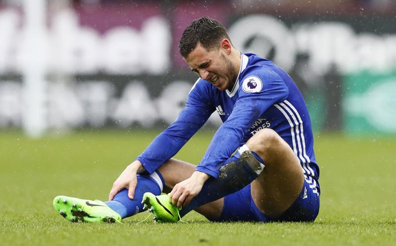 Chelsea's Eden Hazard. Photo: Reuters