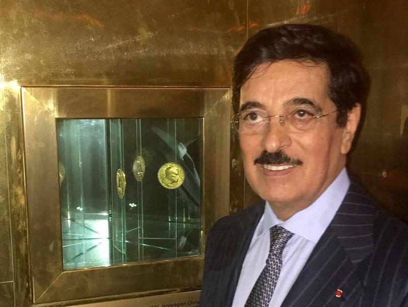 Qataru2019s candidate for the post of director general at the United Nations Educational, Scientific and Cultural Organisation Hamad Bin Abdulaziz Al-Kawari. Photo: THT