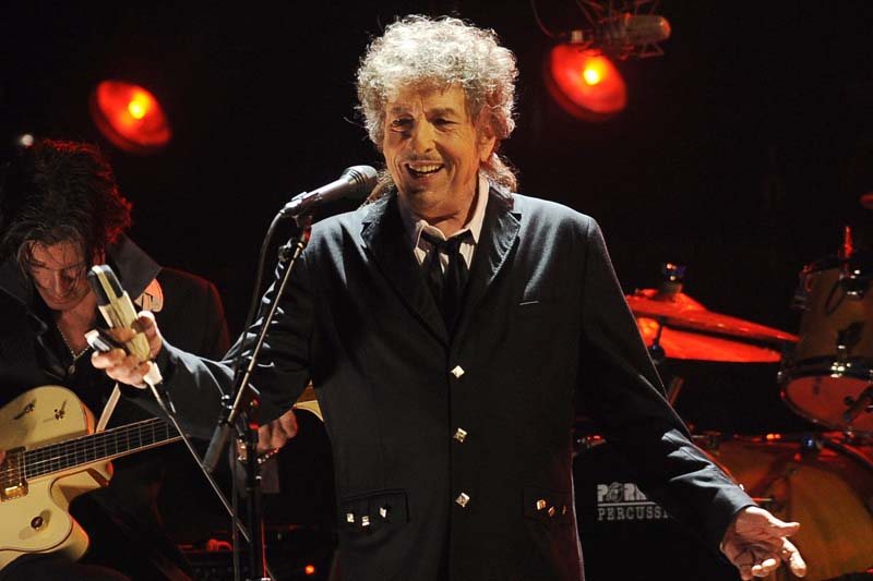 FILE - In this Jan. 12, 2012, file photo, Bob Dylan performs in Los Angeles. Photo: AP