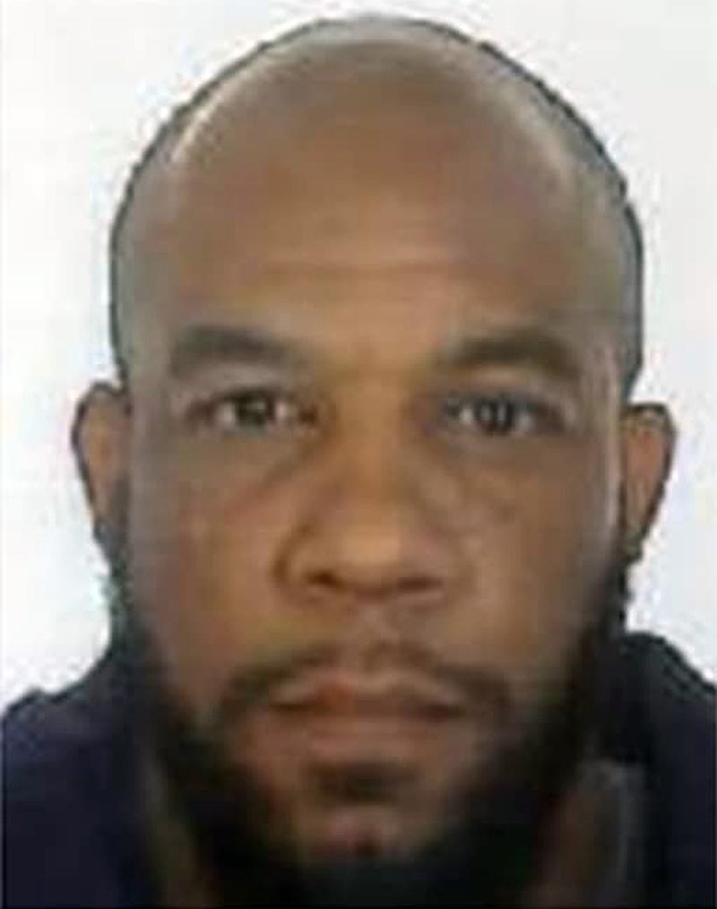 This is an undated photo released by the Metropolitan Police of Khalid Masood. Authorities identified Masood,  a 52-year-old Briton as the man who mowed down pedestrians and stabbed a policeman to death outside Parliament in London, saying he had a long criminal record and once was investigated for extremism u2014 but was not currently on a terrorism watch list.  Photo: Metropolitan Police via AP