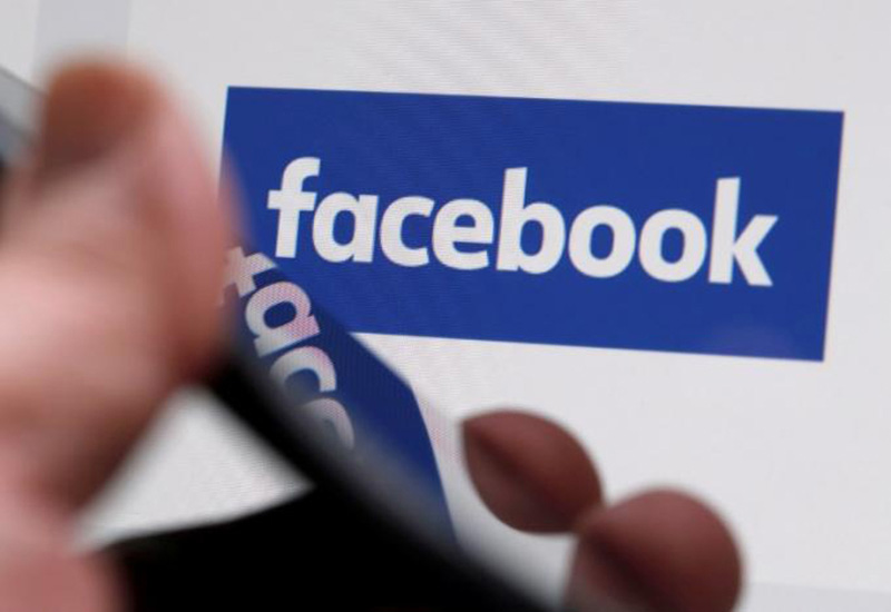 The Facebook logo is displayed on their website in an illustration photo taken in Bordeaux, France, on February 1, 2017. Photo: Reuters