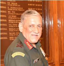 Gen Bipin Rawat. Photo: Indian Army