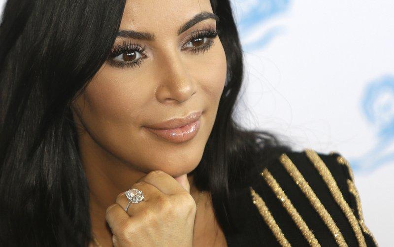 Kim Kardashian West Photo: AP