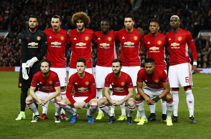Manchester United. Photo: Reuters