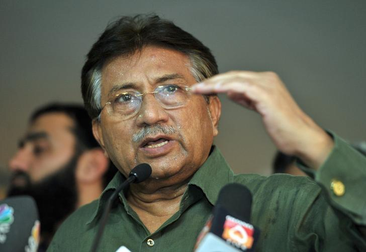 FILE - Pakistan's former President Pervez Musharraf speaks during a news conference in Dubai March 23, 2013. Photo: Reuters