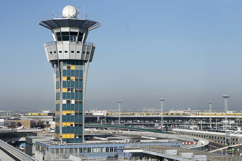 File-A general view of the Orly airport in Paris, taken on April 9, 2015. Photo: Reuters