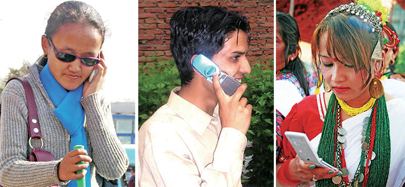 File - With the rise in the popularity of mobile handsets in the country, domestic importers have seen a rise in sales with 25,000 sets being imported on average daily. Photos: THT