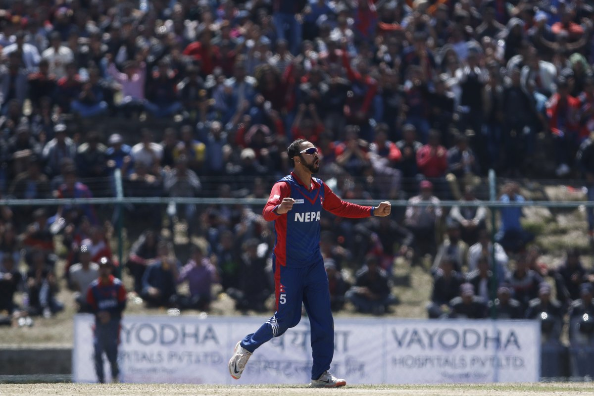 Nepal's Sarad Vesawkar. Photo: ICC