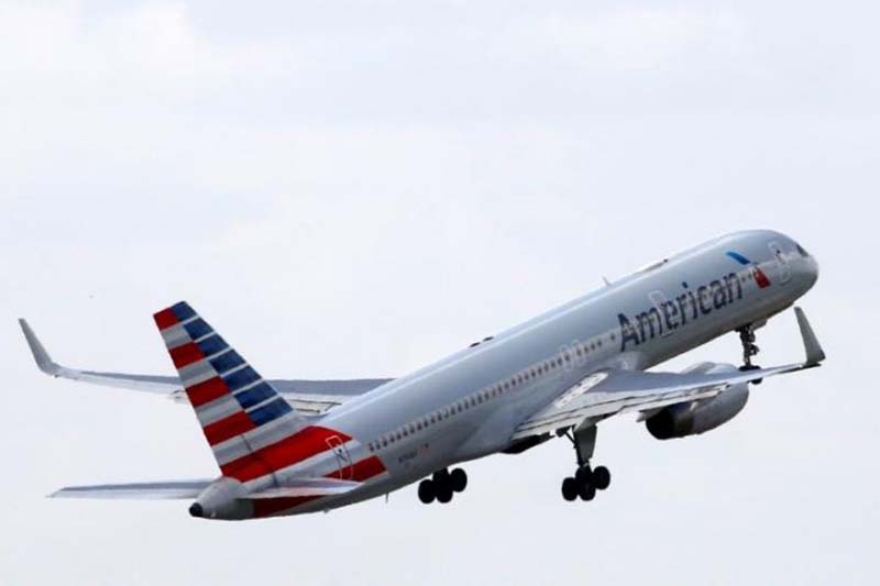 An American Airlines Boeing 757 aircraft takes off at the Charles de Gaulle airport in Roissy, France, on August 9, 2016. Photo: Reuters