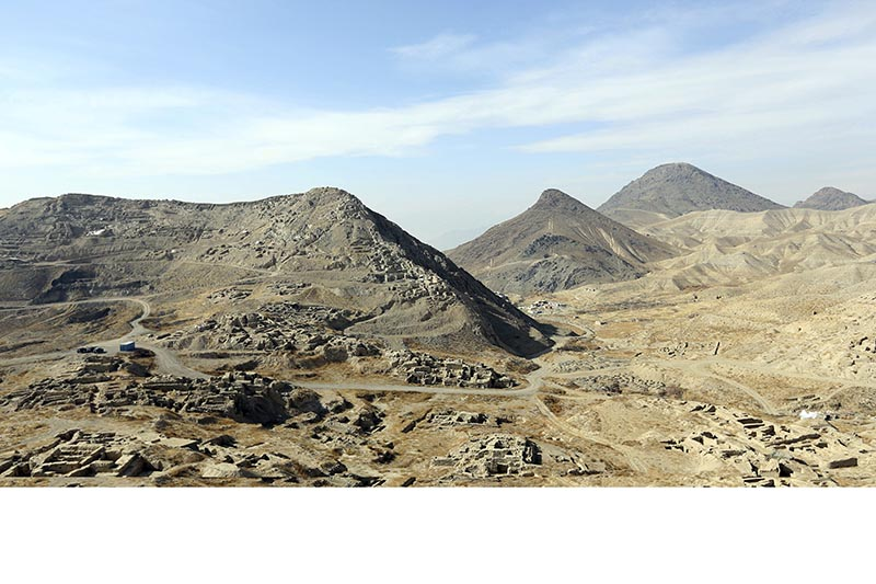 In this Sunday, Jan. 18, 2015, photo, a general view of Mes Aynak valley, some 40 kilometers (25 miles) southwest of Kabul, Afghanistan. The Afghan government is trying to grab President Donald Trumpu2019s attention by dangling its massive, untouched wealth of minerals, including lithium, the silvery metal used in mobile phone and computer batteries considered essential to modern life. But tapping into that wealth, which also includes coal, copper, rare earths and far more, is likely a long way off, with security worsening the past year and Trumpu2019s policy on the war still not known. Photo: AP