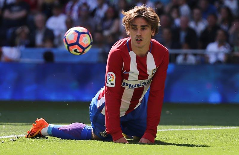 Atletico Madrid's Antoine Griezmann. Photo: Reuters