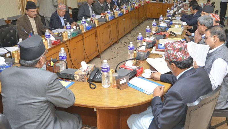 The Cabinet met after 24 days. Photo: PM's Secretariat