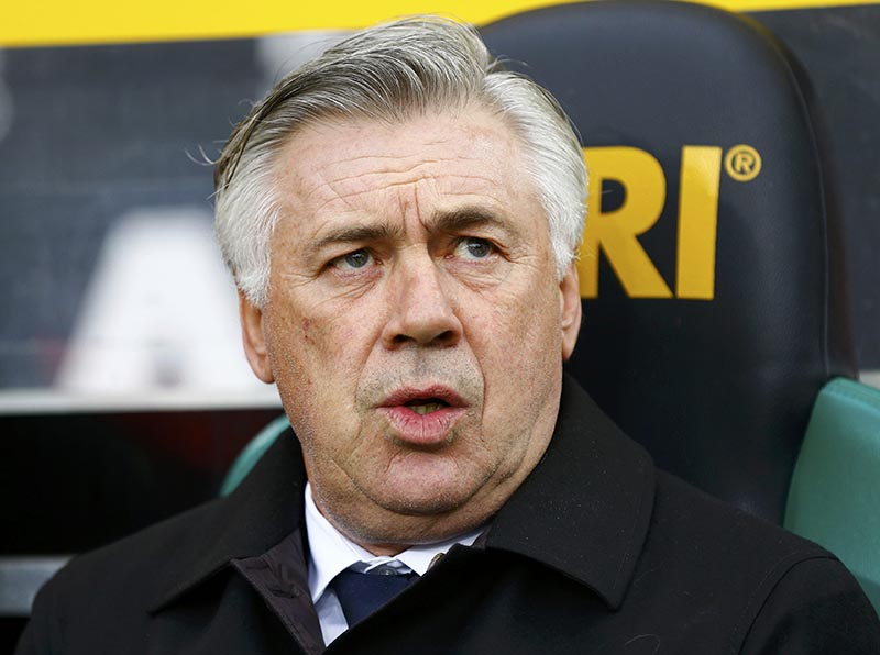 Bayern Munich coach Carlo Ancelotti. Photo: Reuters