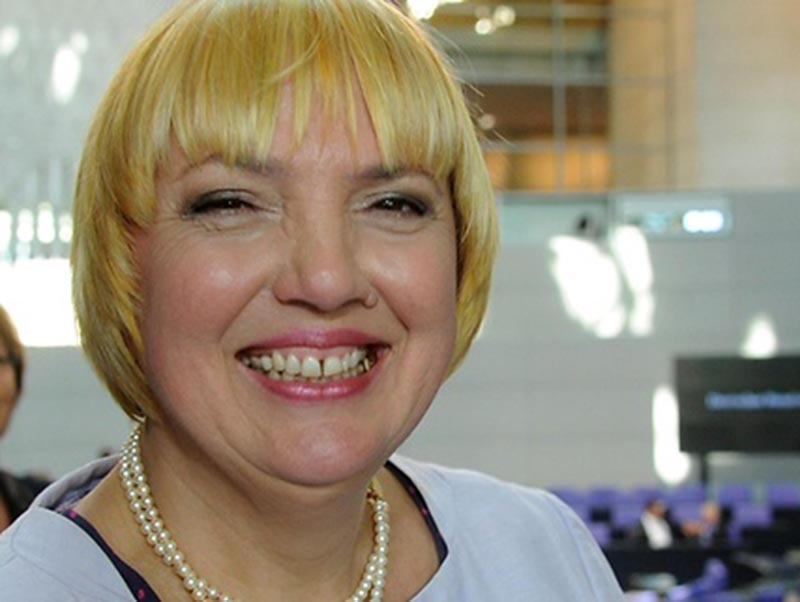 File - The Vice-President of the German Bundestag Claudia Roth. Photo: Bundestag