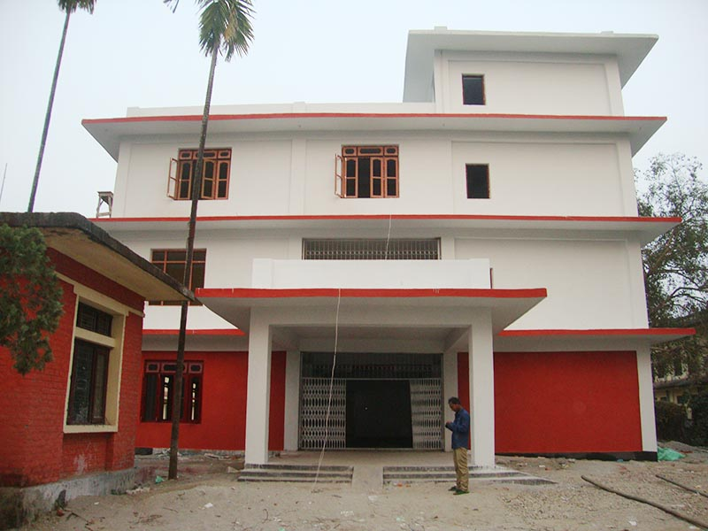 A view of District Education Office, Jhapa, building. Photo: DEO Jhapa