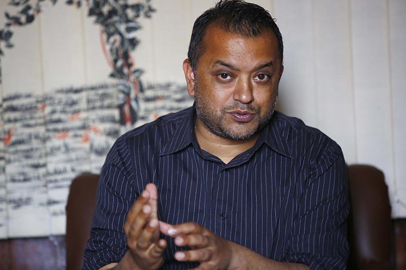 Health Minister Gagan Thapa