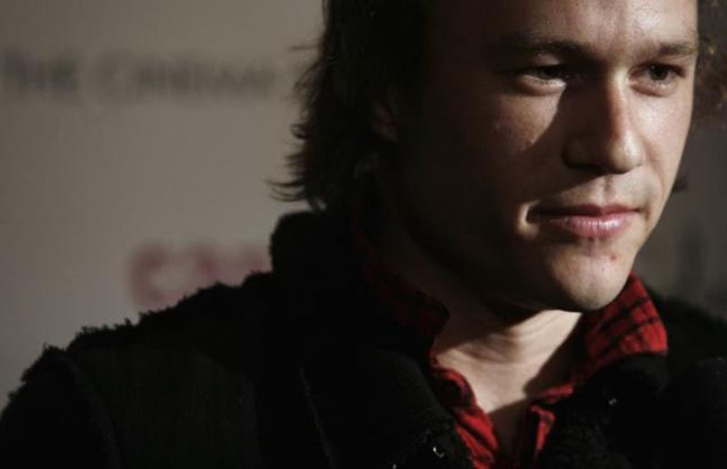 Actor Heath Ledger arrives at the premiere of the film ''Candy'' in New York, on November 6, 2006. Photo: Reuters