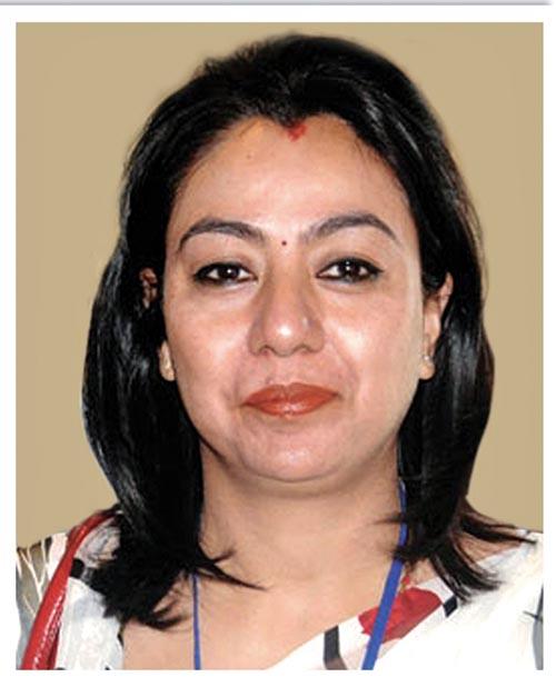 Fiile - Industrialist Bhawani Rana. Photo: THT