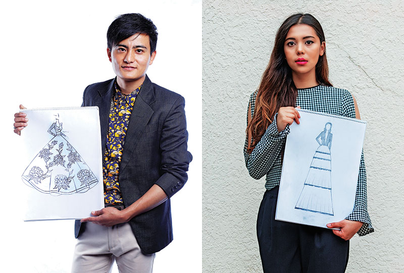 Manish Rai (left) and Siwangi Pradhan. Photos: THT