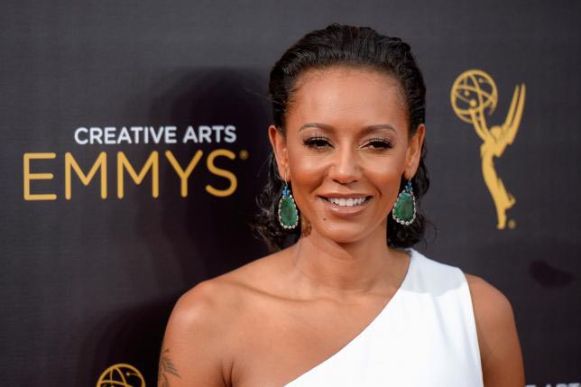 British actress and singer Melanie Brown also known as Mel B arrives at the Creative Arts Emmys in Los Angeles, California, US, on September 10, 2016. Photo: AP/File
