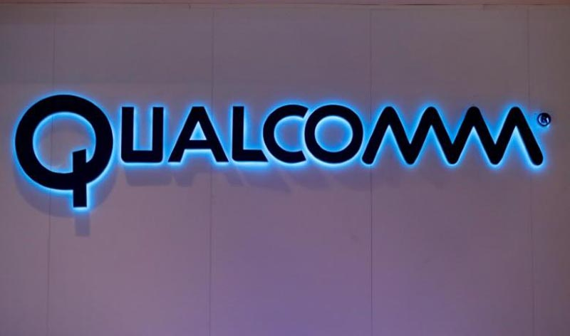 Qualcomm's logo is seen during Mobile World Congress in Barcelona, Spain, on February 28, 2017. Photo: Reuters/File