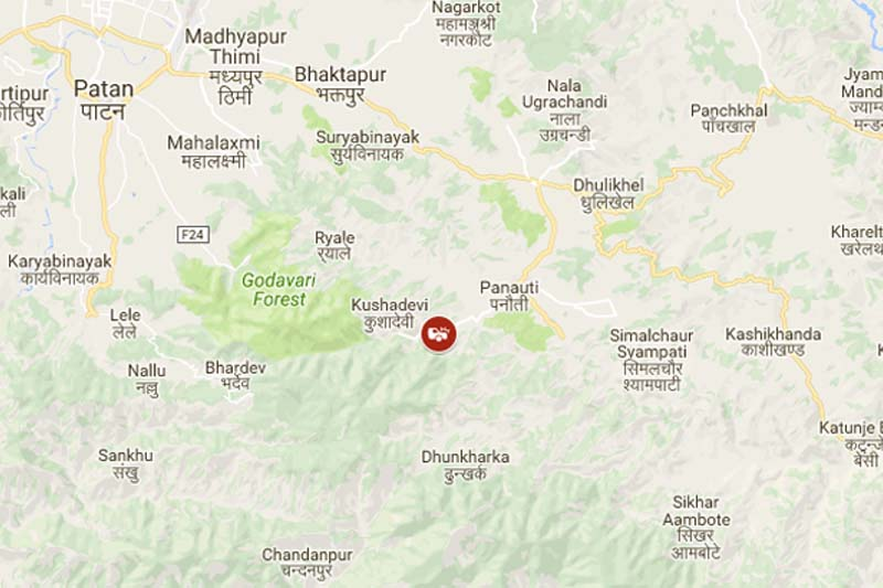 Two die when bike rams into bus in Kavre