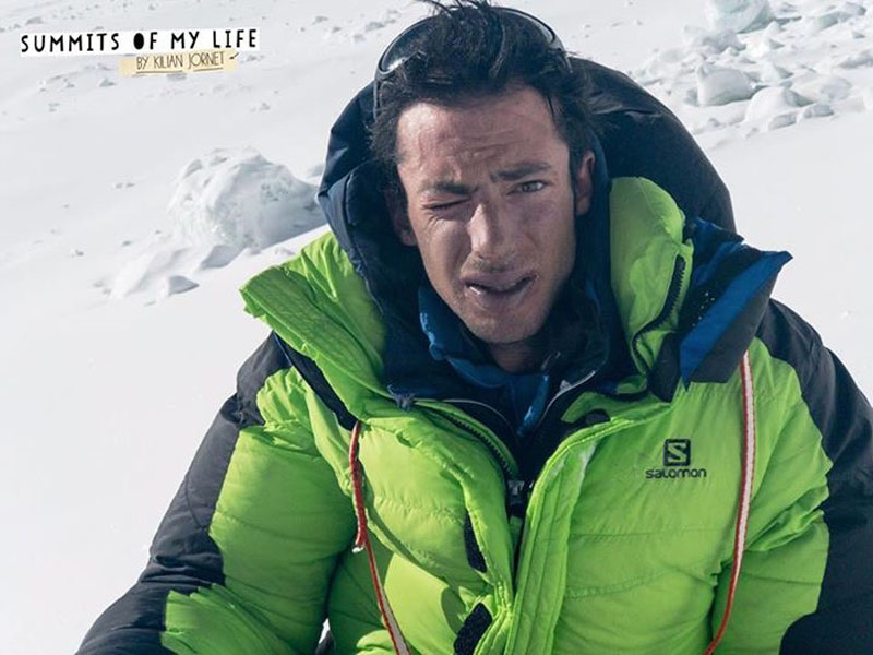 Spanish climber Kilian Jornet in Mt Everest region on Saturday, May 27, 2017. Photo courtesy: Summits of My Life/Kilian Jornet Facebook