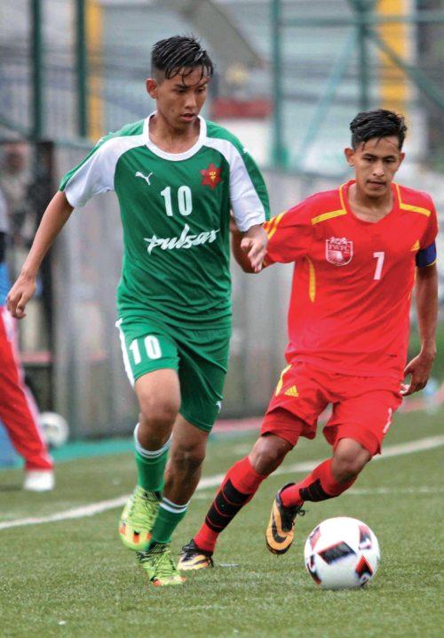 U-18 football tournament Tribhuvan Army Club