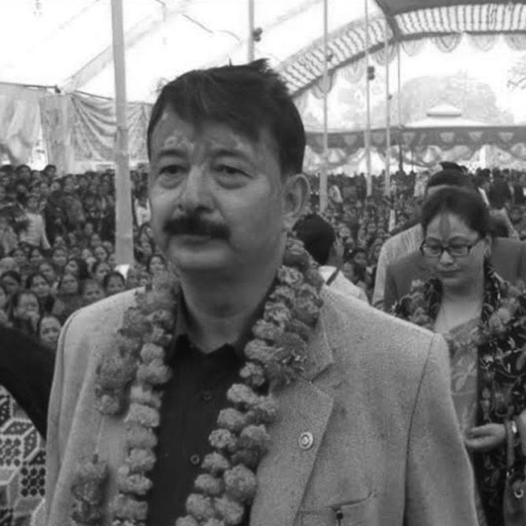 Businessman Raj Kumar Shrestha