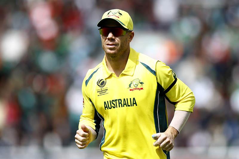 Australia's David Warner. Photo: Reuters