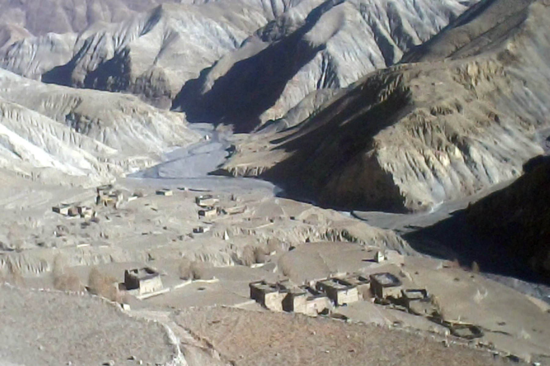 A view of Tiling village in Phoksundo Rural Municipality in Dolpa district, on Sunday, June 4, 2017. Photo: RSS