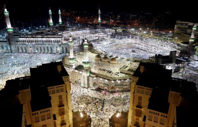 FILE: General view of the Kaaba at the Grand Mosque in Mecca, Saudi Arabia, on September 9, 2016. Photo: Reuters/ File