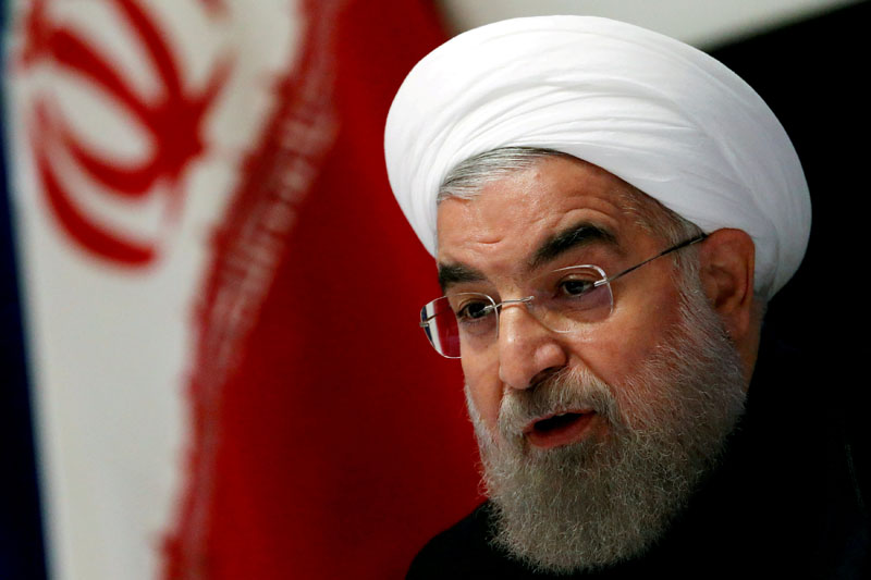 FILE: Iranian President Hassan Rouhani takes part in a news conference near the United Nations General Assembly in the Manhattan borough of New York, US, on September 22, 2016. Photo: Reuters