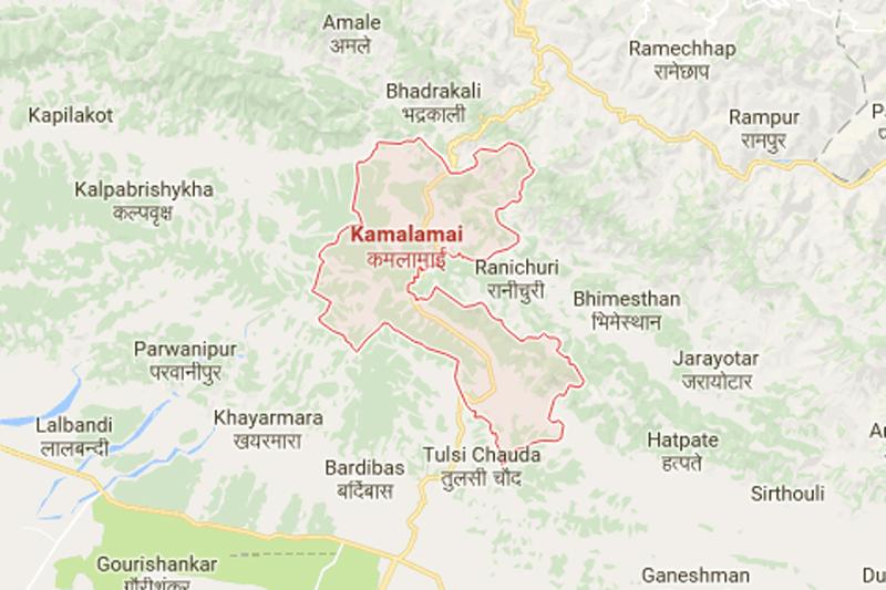 Kamalamai, Sindhuli. Source: Google maps