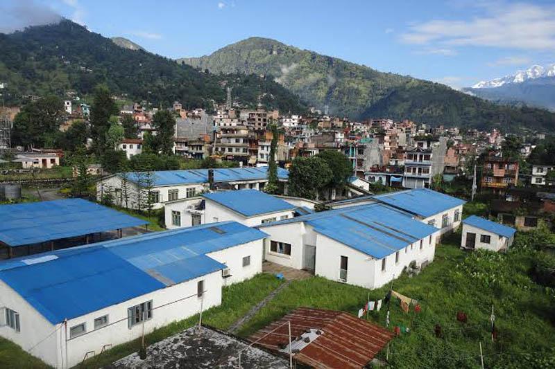A view of Lamjung district community hospital in Besisahar, on Sunday, June 4, 2017. Photo: Ramji Rana