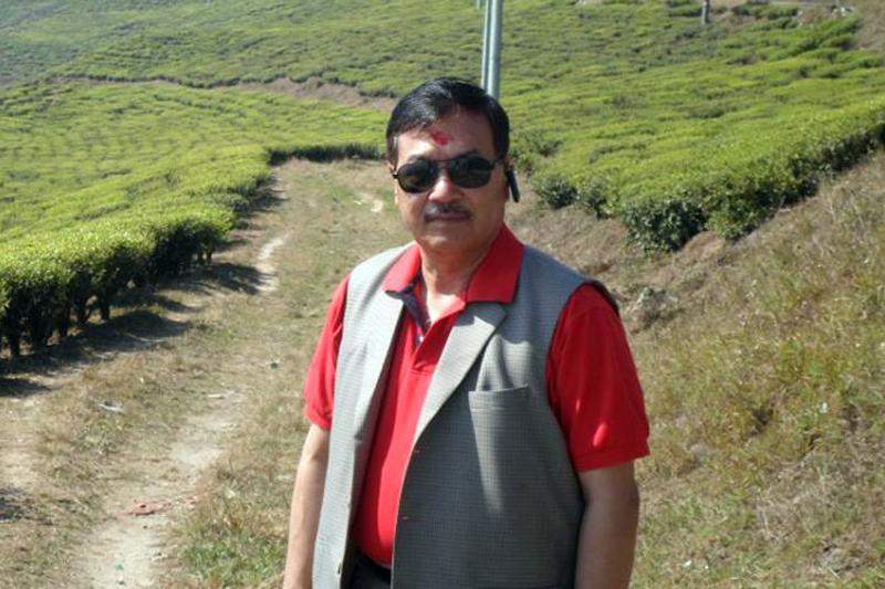 former General Secretary of All Nepal Football Association Lokendra Bahadur Shahi. Courtesy: Facebook