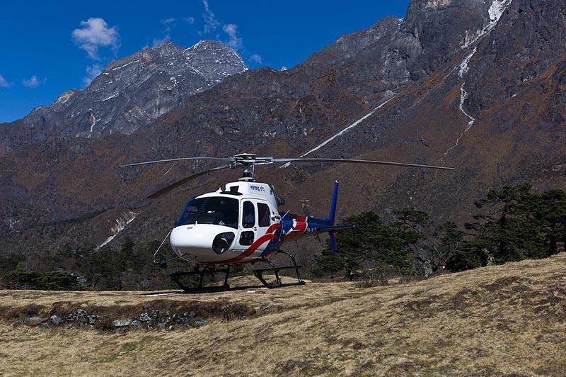 Manang Air helicopter. Photo courtesy: MANANG AIR PVT. LTD.