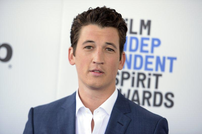 Actor Miles Teller arrives at the Film Independent Spirit Awards in Santa Monica, California, on February 25, 2017. Photo: AP